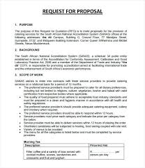 Business Proposals Format