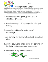 Punctuation Worksheets Grade 3 Best Images Of Practice