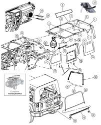 17 best images about jeep jk parts diagrams models interactive diagram jeep wrangler jk 4 door soft top hardware