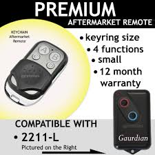 garage remote control opener compatible with GUARDIAN 21230 21230L ...