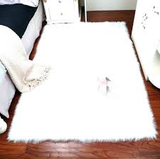 faux fur rug white faux fur rug small size of fur rug white fur rug white