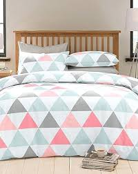 graphic design duvet covers c grey and white bedding with a triangle print