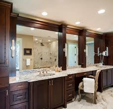 Framing A Large Mirror Bathroom Bathroom Furniture Framing A Bathroom Mirror With