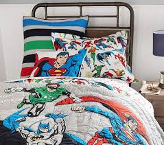 justice league quilt pottery barn kids duvet cover o superhero bed for sheets decor 15