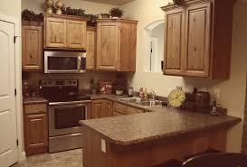 glazed knotty alder whole kitchen cabinets