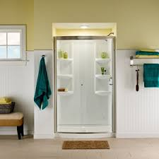 48 inch tub shower. quickview. discontinued. ovation curved 48 inch 3 piece shower tub
