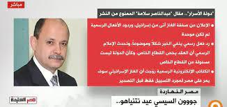 """محمد ناصر علي - جزء من مقال عبد الناصر سلامة """"دولة..."""
