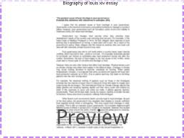 louis xiv essay biography of louis xiv essay term paper academic service