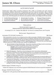 Project Accountant Resume Example Resume Samples Accounting Unique Project Accountant Resume Examples 11