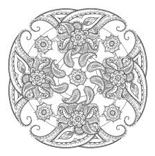 Small Picture paisley Coloring Pages Paisley Coloring Page Printable