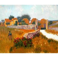 high quality vincent van gogh paintings farm house in provence oil on canvas hand painted home decor in painting calligraphy from home garden on