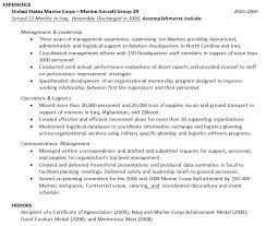 military experience on resume okl mindsprout co military experience on resume