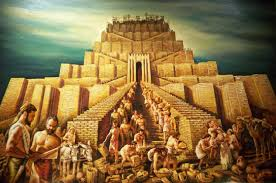 Image result for what happened to the tower of babel?