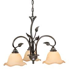 vine downlight chandelier 3 light