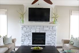 Modern Stacked Stone Fireplace Decorations Dry Stack Stone Stacked Stone Veneer Fireplace