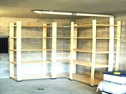 garden shed shelving ideas garage plans projects