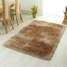 This Mastercraft Xanadu rug in soft mink shade has a super soft shaggy pile  that is deliciously thick and ideal for creating a luxury cosy look.