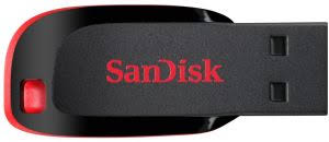 Sandisk Cruzer Blade <b>USB Flash Drive</b> - <b>16GB</b> : Buy Online USB ...