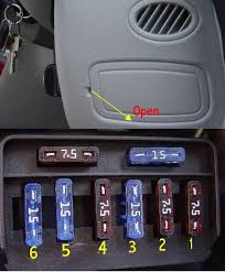 bert rowe s a class info battery compartment fuses relays fuse box for lighting on rhd models it is located on the o s end of the dash between the door and the dash this fuse facility provides protection for