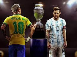 بث مباشر مشاهدة مباراة البرازيل ضد الأرجنتين الأحد 11-7-2021 في نهائي كوبا  أمريكا