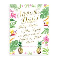save the dates for a wedding in hawaii mospensstudio com