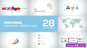 Corporate Presentation Template After Effects Template Free