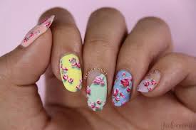 Mother S Day Nail Designs Mothers Day Vintage Rose Nail Art Jackiemontt