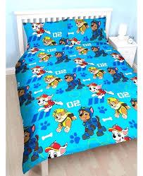 paw patrol bedding twin set double duvet cover reverse toddler comforter skye twi