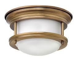 Hinkley Hadley Light Details About Hinkley Lighting 3308br Hadley 16w 1 Led Flush Mount Brushed Bronze