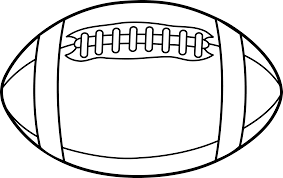 Football Drawing Template Free Download Best Football