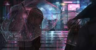 Anime Rain Wallpaper Engine - instaimage
