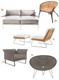 outdoor furniture roundup modern muse