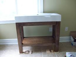 Bathroom  Impressive Ikea Grey Bathroom Vanity Designs With - Bathroom vanity remodel