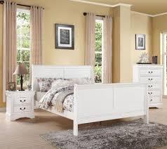 Acme Furniture Louis Philippe III 3 Piece Full Size Bedroom Set