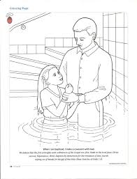 Small Picture Mysteries Rosary Coloring Pages Baptism Of Jesus In The Jordan For