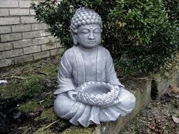 garden buddha. Buddha Statue Garden Statues Zen Concrete