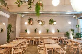 london restaurant amber in aldgate east contemporary modern design ash dining furniture designed by