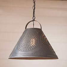 Image Shade Light Image Unavailable Amazoncom Homestead Shade Pendant Light In Punched Tin Ceiling Pendant