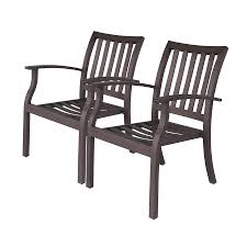 Aluminum Outdoor Dining Chairs