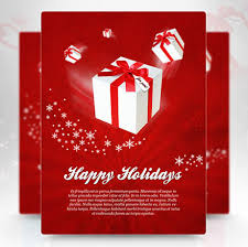 Holiday Templates Christmas Brochure Templates Free