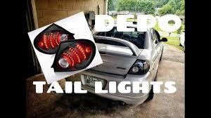 Dodge Neon Brake Light Dodge Neon Srt4 Depo Tail Light Install
