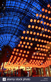 luminaries spectacular lighting display. Luminaries - A Spectacular Lighting Display At The Winter Garden, Brookfield Place, New York City, I