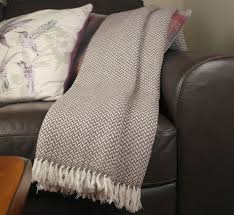 brown colour throw cashmere blanket 100