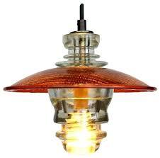 insulator light insulator led pendant lantern repurposed glass insulator pendant light