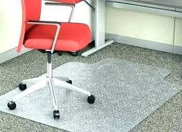 glass floor mat mats for office chairs chair carpet protector material with lip