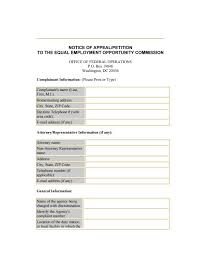 Eeoc Form 573 By Andrew_pdf Issuu