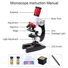 Substage Light Us 9 63 36 Off 1200x 400x 100x Microscope Kit Lab Led Home School Science Educational Kids Toy Gift Refined Biological Microscope For Children In