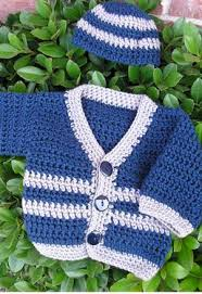 Crochet Baby Sweater Pattern Mesmerizing Santiago Crochet Baby Sweater Knitting Patterns And Crochet