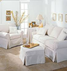 White Slip Covered Sofa Ideas To Makes Your Room More Macys ...