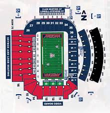 Arizona Stadium Seating Chart Arizona Football Mobile Game Day University Of Arizona